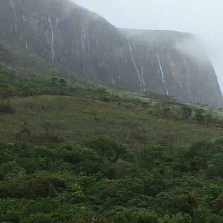 Chuvas no Parque Nacional da Serra da Canastra, nascente do Rio São Francisco - Foto: Reprodução/Redes Sociais